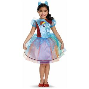 My Little Pony Rainbow Dash  Girls Deluxe Child Costume Small 4-6
