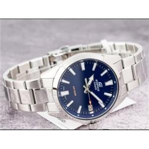 Casio Watch EFV-100 D-2 Silver Tone Case/ Blue Dial.New w/ Warranty/Instructions
