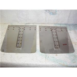 "Boaters' Resale Shop of TX 1911 1422.25 PAIR OF 12"" x 12"" TRIM TABS ONLY"