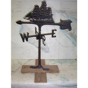 Boaters' Resale Shop of TX 1904 5125.07 BLACK TALL SHIP WINDVANE ASSEMBLY
