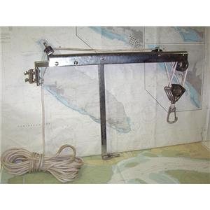 Boaters' Resale Shop of TX 1911 1425.12 GARHAUER OUTBOARD MOTOR HOIST ASSEMBLY