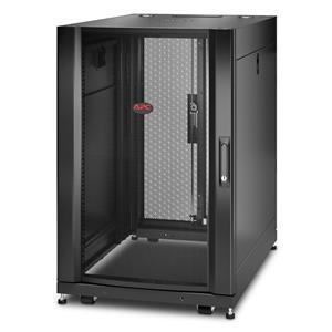 APC NetShelter SX AR3006 18U 600mm Wide x 900mm Deep Server Rack Enclosure with Sides Black