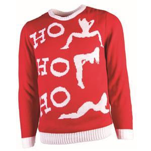 Ho, Ho, Ho Ugly Christmas Sweater Holiday Festive XL