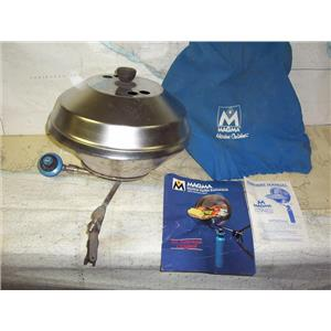 """Boaters' Resale Shop of TX 1911 0447.01 MAGMA 13"""" MARINE KETTLE PROPANE GRILL"""
