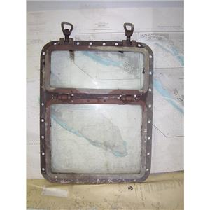 Boaters' Resale Shop of TX 1912 1445.57 BRONZE TRAWLER HATCH ASSEMBLY