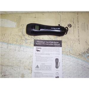 Boaters' Resale Shop of TX 1912 1754.01 HAWKEYE HANDHELD SONAR SYSTEM PX
