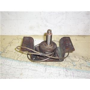 Boaters' Resale Shop of TX 1806 4301.17 VINTAGE BRONZE CENTERBOARD WINCH ONLY