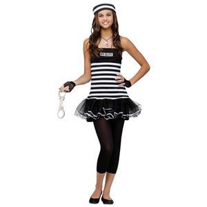 Not Guilty Teen Prisoner Costume Junior 0-9