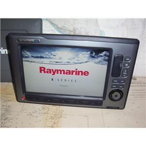 Boaters' Resale Shop of TX 2001 0725.01 RAYMARINE E120W HYBRIDTOUCH DISPLAY ONLY