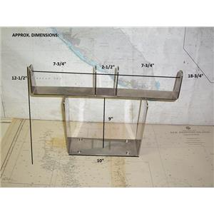 Boaters' Resale Shop of TX 2001 4101.17 STAINLESS STEEL ELECTRONICS BRACKET