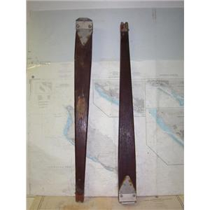"Boaters' Resale Shop of TX 1803 1252.02 SET OF 44"" WOODEN SPEADERS"