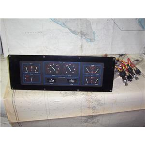 Boaters' Resale Shop of TX 1812 1541.04 UNIFORCE DUAL ENGINE RPM PANEL ASSEMBLY