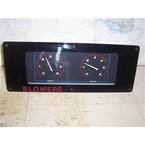 Boaters' Resale Shop of TX 1812 1541.02 UNIFORCE 32749 DUAL ENGINE RPM PANEL