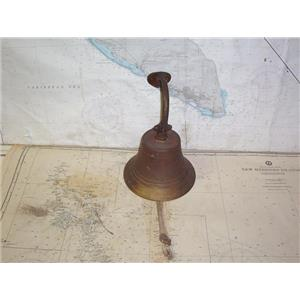"Boaters' Resale Shop of TX 2001 0747.11 VINTAGE 7-3/4"" BRASS SHIPS BELL"