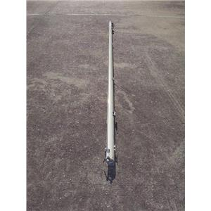 """Boaters' Resale Shop of TX 1803 0422.51 SAIL BOOM 9-1/2 FEET x 1-3/4"""" x 2-3/4"""""""