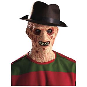 Freddy Krueger Hat Nightmare on Elm Street Brown Fedora