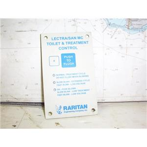 Boaters' Resale Shop of TX 2001 4101.341 RARITAN 31-603 LECTRA/SAN HEAD CONTROL