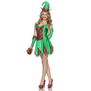 Elfin Magic Christmas Santa Helper Women's Sexy Costume Medium
