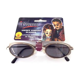 Unisex Vampire Black Sunglasses Costume Glasses