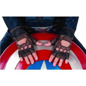 Captain America Gloves Winter Soldier Stealth Hero Marvel