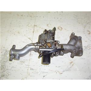 Boaters' Resale Shop of TX 2001 4101.651 YAMAHA T9.9EXHR CARBURETOR ASSEMBLY