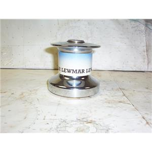 Boaters' Resale Shop of TX 1810 1755.01 LEWMAR 8 ONE SPEED CHROME PLATED WINCH