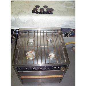 Boaters' Resale Shop of TX 1911 4447.01 FORCE 10 STOVE & OVEN SHELL FOR PARTS