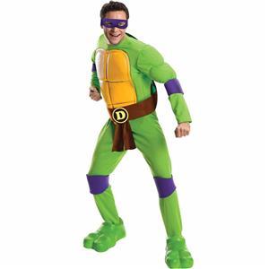 Teenage Mutant Ninja Turtles Purple Donatello Adult Standard Size