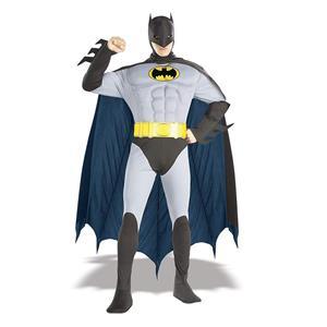 Classic Batman Deluxe Adult Costume Size Medium