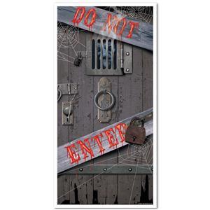 Halloween DO NOT ENTER Hall Door Cover Decoration