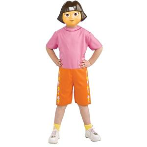 Nick Jr Dora the Explorer Costume Kit Children 4-6