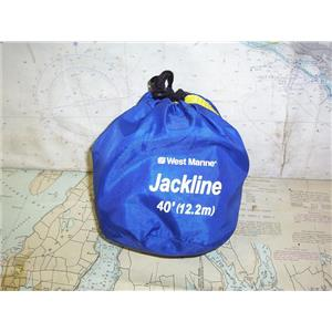 Boaters' Resale Shop of TX 2001 2744.25 WEST MARINE 40 FOOT JACKLINE IN BAG