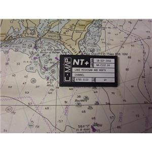 Boaters' Resale Shop of TX 2001 0457.02 C-MAP M-NA-C102.04 ELECTRONIC CHART CARD