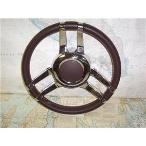 "Boaters' Resale Shop of TX 2002 0454.01 DELUXE 13"" STEERING WHEEL WITH 2"" I.D."