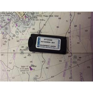 Boaters' Resale Shop of TX 1912 2745.11 GARMIN MGUS090CS OFFSHORE CHART CARD