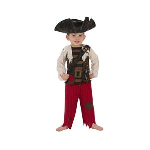 Pirate Matey Child Captain Costume Medium