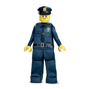 Lego Police Boys Costume Small 4-6x