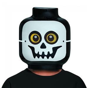 LEGO Skeleton Costume Mask Child Size
