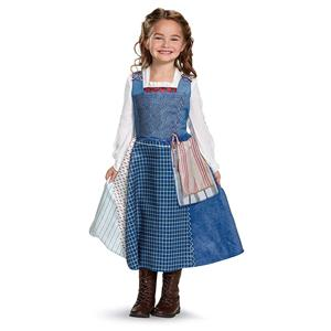 Disney Beauty and the Beast Belle Village Dress Child X-Small 3T-4T