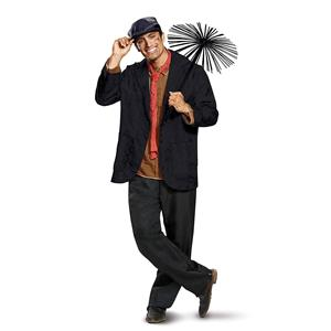 Bert Chimney Sweep Adult Costume Mary Poppins