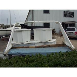 "Boaters' Resale Shop of TX 1709 1725.02 3600 MARTINQUE 48"" x 101"" RADAR ARCH"