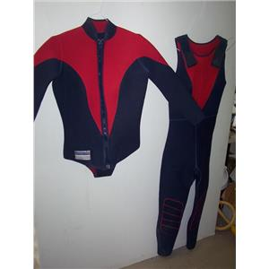 Boaters' Resale Shop of TX 2002 2171.01 OCEANIC WOMENS 2 PIECE WETSUIT
