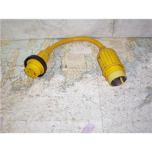 Boaters' Resale Shop of TX 2003 0145.14 MARINCO #121A PIGTAIL ADAPTER 3OA TO 50A