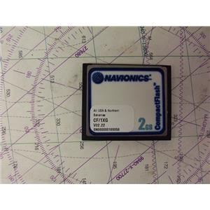 Boaters' Resale Shop of TX 2003 0257.13 NAVIONICS CF/1XG COMPACT FLASH CHART