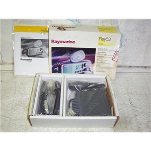Boaters' Resale Shop of TX 2003 0257.05 RAYMARINE RAY 53 MARINE VHF RADIO IN BOX