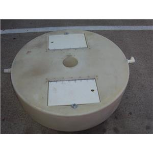 "Boaters' Resale Shop of TX 2002 1547.01 COCKPIT LIVEWELL 12"" x 42"" DIAMETER"