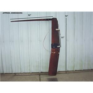 Boaters' Resale Shop of TX 2002 3701.34 M22 KICK-UP RUDDER & TILLER ASSEMBLY