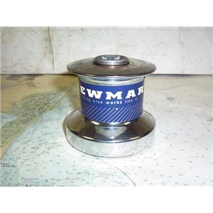 Boaters' Resale Shop of TX 1805 0444.14 LEWMAR 6 CHROME PLATED ONE SPEED WINCH