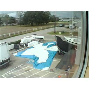 Asymmetrical Spinnaker w 64-9 Luff from Boaters' Resale Shop of TX 2002 0455.91