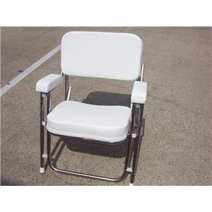 Boaters' Resale Shop of TX 1908 0147.02 WEST MARINE # UT-1683 FOLDING DECK CHAIR